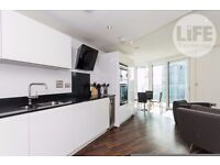 18th floor ONE BEDROOM FLAT, furnished, 24hr porter, Altitude Point, E1 8NG, Aldgate Place.