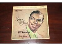 Nat King Cole Love Is The Thing (7) Vinyl LP