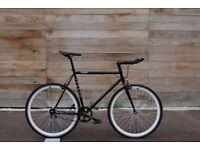 Christmas Sale GOKU Cycles Steel Frame Single speed road bike TRACK bike fixed gear bike 166