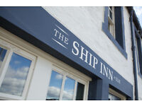 Small Jazz Band Required to Play at The Ship Inn Elie
