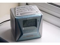 Sony FM/AM clock Radio - dream machine