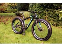 Scott Big Ed Fat Bike - Medium - Immaculate With Upgrades (May Post) RRP £2200