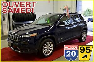 2016 Jeep Cherokee LIMITED * CUIR * BLUETOOTH * V6