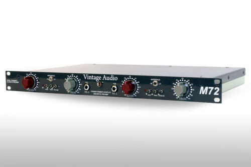 VINTAGE AUDIO: M72, 1272 DUAL MIC PREAMP, NEVE STYLE PREAMP, HOT RODDED!