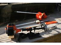 Petrol strimmer/Brushcutter with pruning atachment in excellent condition