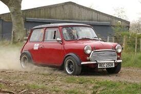 Rally Mini car