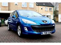 PEUGEOT 308 1.6 SPORT 5DR HATCHBACK FSH HPI CLEAR EXCELLENT CONDITION