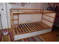 Ikea Kura Reversible Mid / Low Sleeper Single Bed - Linlithgow - £45 each (2 Available)