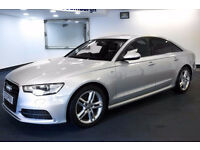 2013 13 AUDI A6 2.0 S LINE TDI 1 OWNER DIESEL(PART EX WELCOME)***2 YEARS AA WARRANTY INCLUDED***