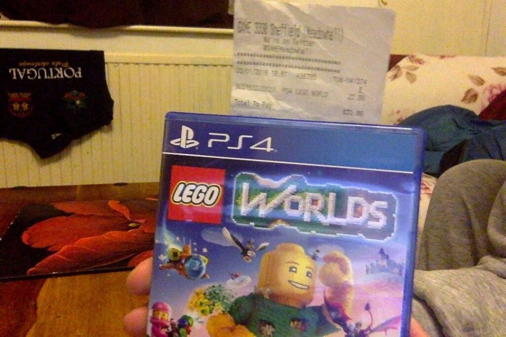 BRAND NEW LEGO WORLDS PS4 GAME (Free Post)