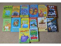 Children's reading books - mixed lot of 12 animal themed