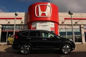 2015 Honda CR-V Touring- NAV+ LEATHER+ BACKUP CAM+ SUNROOF & MOR