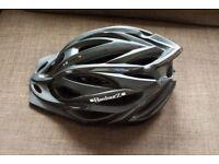 HardnutZ HiVis Bike Helmet Matt Black 54-61cm (2x available)