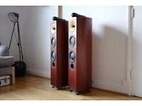 Bowers & Wilkins B&W 804S Signature floor standing speakers in Rose Wood cm10 cm9 803 Diamond £1500