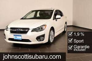 2014 Subaru Impreza Sedan Sport 1.9%