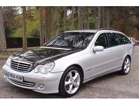 Mercedes-Benz C Class 2.7 C270 CDI Avantgarde SE 5dr FSH LEATHER SEATS, PARKING AID