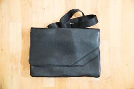 Minimalist Messenger Bag [BLACK]