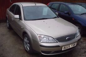 FORD Mondeo LX Tdci 2Ltr Diesel, 2005-05 plate