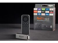AMAZON FIR TV STICK FULLY LOADED WITH KODI AND MOBDRO, MOVIES, TV, SPORTS, FITNESS, KIDS, MUSIC