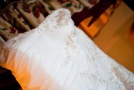 Beautiful Sophia Tolli size 8/10 Wedding Dress