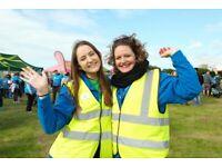 Volunteer at Nottingham Memory Walk