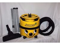 Boxed Numatic Yellow James Hoover, As new. Used once - looks Brand New