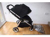 Black Mamas and Papas Armadillo Flip XT stroller pushchair **can post***