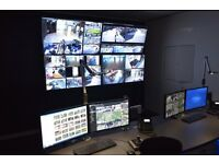 Professional 64 camera CCTV system (Retail / Business)