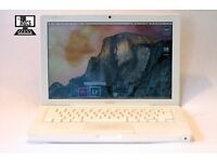 "1.83Ghz 13.3"" White Apple MacBook 2gb 60gb Microsoft Office FL Studio Final Cut Pro"