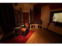 Recording studio timeshare available