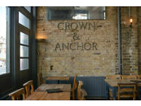 Assistant Manager-Craft Beer Pub-Crown and Anchor Brixton