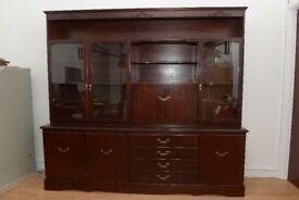 Reproduction Mahogany Cabinet (£200 O.N.O.)