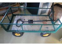 Garden trolley in as new condition