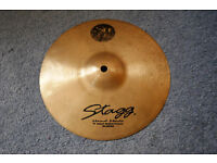 """Stagg """"Hand-Made"""" 10"""" Splash very good used condition"""