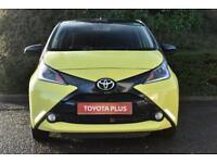 Toyota Aygo VVT-I X-CITE 3 (yellow) 2017-01-31