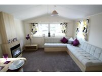 Double Glazing with Central Heating Boutique Caravan for Sale at Pendine Sands