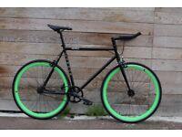 Christmas Sale GOKU Cycles Steel Frame Single speed road bike TRACK bike fixed gear bike 155