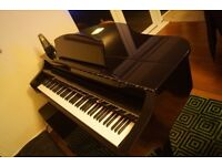 Digital baby grand piano in excellent condition - Can help or arrange pick up and delivery