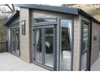New Swift Whistler Lodge sited at the stunning Drimsynie Holiday Village one hour from Glasgow.