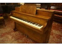 Upright piano by Morley of London - Art Deco - Tuned and UK delivery available