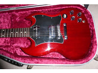GIBSON SG SPECIAL. BARE KNUCKLE MISSISSIPPI QUEEN P90'S. P/X POSSIBLE.
