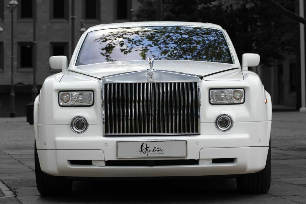 Rolls Royce Phantom Hire Limo Wedding Car Airport Transfers Prom Cars Limousine