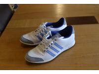 Adidas moulded sole golf shoes (size UK 5 1/2)