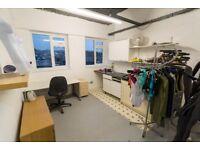 Artists studios with sink, Hackney Wick