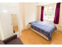 Large South facing room near bromley by bow