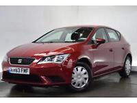 SEAT LEON 1.2 TSI S 5d 105 BHP (red) 2013