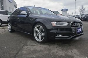 2013 Audi S4 3.0T Premium (S tronic) MOONROOF LEATHER NAV