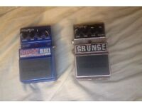 Digitech Screamin' Blues & Grunge Distortion Guitar Pedal