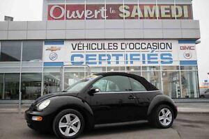 2004 Volkswagen NEW BEETLE CABRIO GLS + 4 PNEUS HIVER SUR JANTES