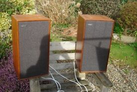 Celestion County Vintage Retro Hi Fi Speakers from 1980 - Fully working